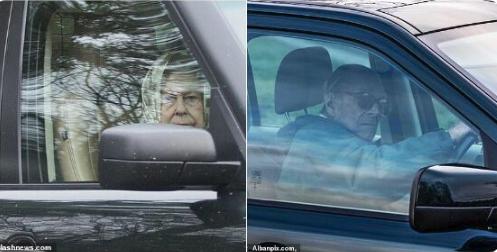 97岁菲利普亲王又上路了 这次终于系了安全带