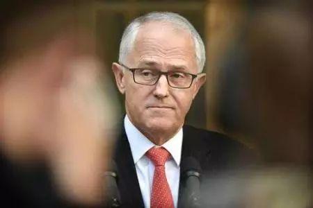 图为澳大利亚总理特恩布尔