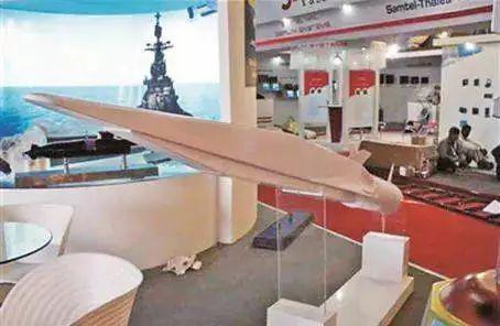 """俄罗斯公布的""""锆石""""高超音速反舰导弹模型"""