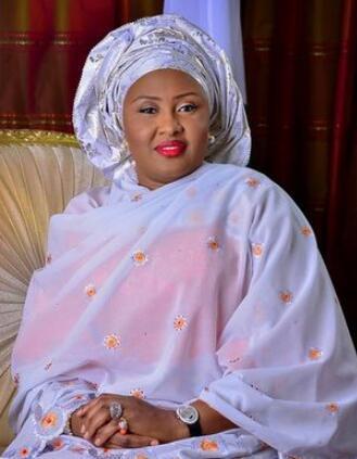 图为尼日利亚第一夫人阿伊莎·布哈里。(原料图)