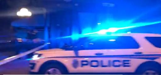 警方已到达事发现场。(图源:推特)