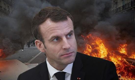 法国总统马克龙 (图源:路透社)