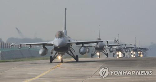 空军F-15K战机(图源:韩联社)