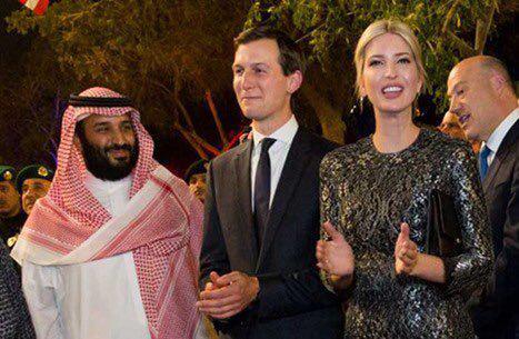 库什纳与特朗广泛伊万卡访问沙特。