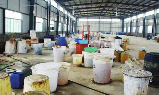 工業區廠房規模制造毒品窩點