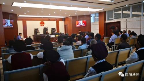 图片来源:鹤庆县人民法院微信公众号。尹庆元 摄
