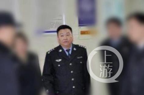 ▲徐州市公安局云龙湖景区分局原局长曹为民,是王在清在徐州重要的保护伞之一。图片来源/中纪委网站