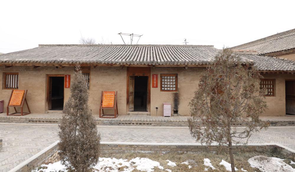 △这是1935年10月毛泽东率领中央红军途经单家集时住宿的小院(2021年1月29日摄)。新华社记者 卢鹰 摄