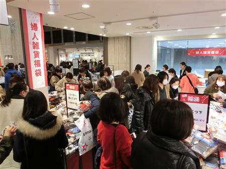 大阪近铁百货店的卖场(产经信休)