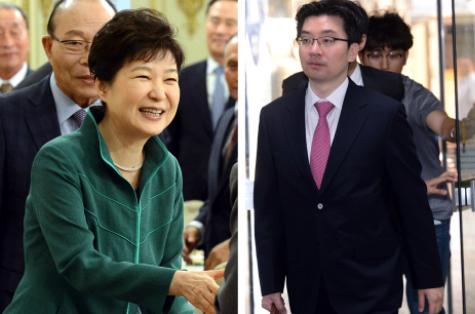 朴槿惠与前律师蔡明星
