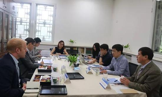 △在北京大学国际战略钻研院