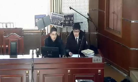 末了,法官外示此案有关证据还要进一步核实,因此未当庭宣判。