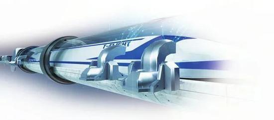 真空线路系统示意图。图片来源:黄河新闻网