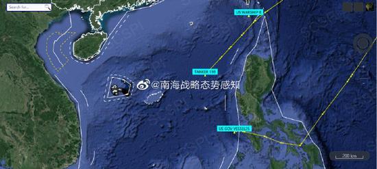 美军两栖戒备群进入南海