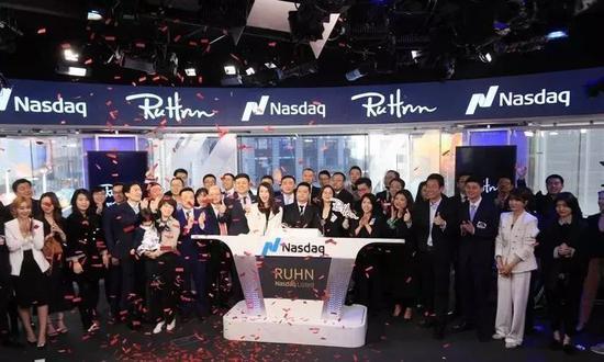 纳斯达克第1个敲钟的中国网红:粉丝千万 身家6亿