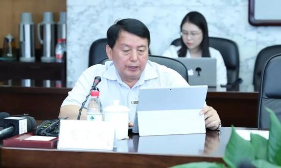 南开大学前副校长 佟家栋国是直通车 李颖 摄