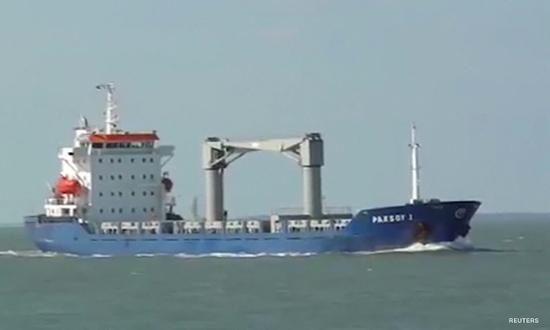 资料图:海盗劫持土耳其船只(路透社)
