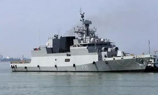 太不安分 印越首次海上联合军演紧盯中国越南印度海军
