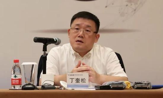 中信改革发展研究院资深研究员 丁奎松(李颖/摄)