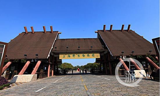 ▲上海野生动物园大门。图片来源/网络图片