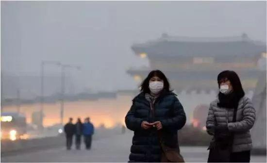(图为韩国雾霾 图源:环球时报)