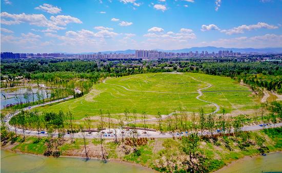 """比奥森大6倍!京城最大""""绿肺""""2平方公里示范区今开园"""