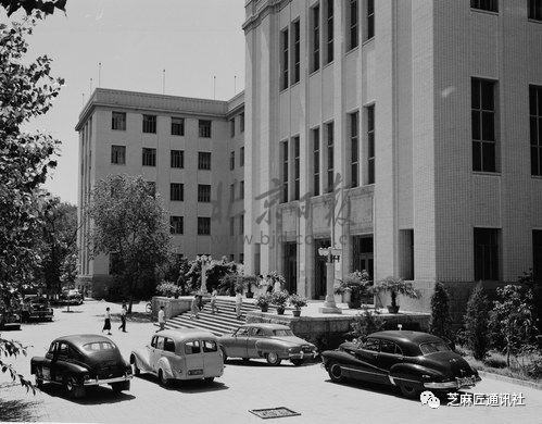 台基厂3号院—中共北京市委老办公楼,1958年建成投入使用。北京日报 袁克夫/摄