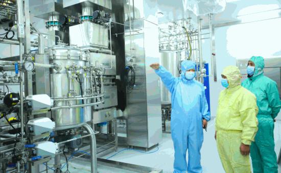 中国建成全球最大新冠疫苗生产车间,可年产1亿剂!