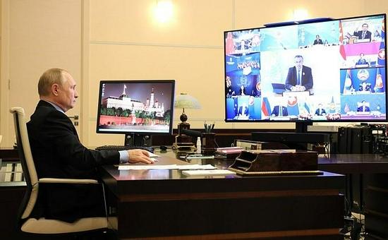 普京:《中导条约》失效后东亚地区面临军备竞赛威胁