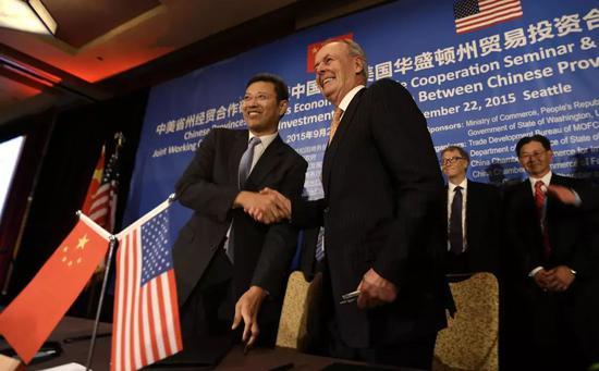 ▲泰拉能源和中国核工业公司签定制定