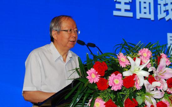 中国经济体制改革研究会会长彭森中国经济体制改革杂志社供图
