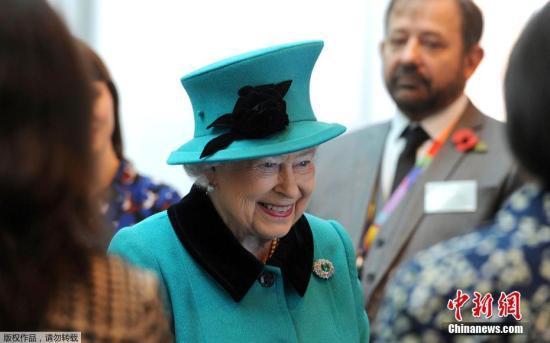 原料图:英国女王伊丽莎白二世。