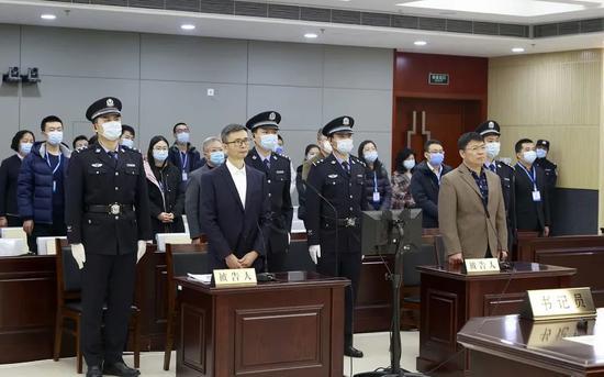 李宁二审庭审现场   图片来源:吉林省高级人民法院微信公众号