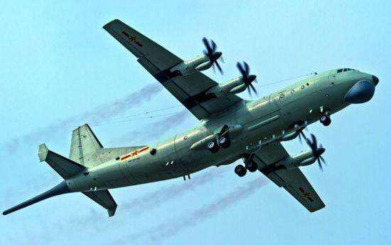 """原料图片:中国海军""""高新-6""""逆潜巡逻机。(图片来源于网络)"""