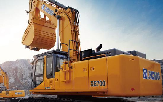 徐工机械挖掘机产品 图片来源:公司官网
