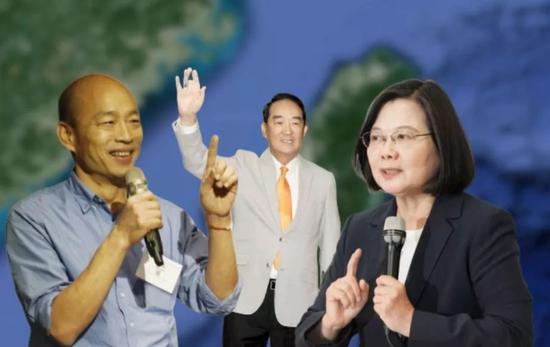 臺灣2020選舉的選前之夜 三位候選人都怎么過?圖片
