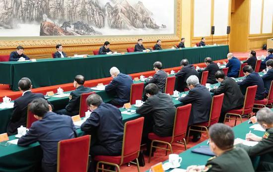 △2月23日,统筹推进新冠肺炎疫情防控和经济社会发展工作部署会议在北京召开。