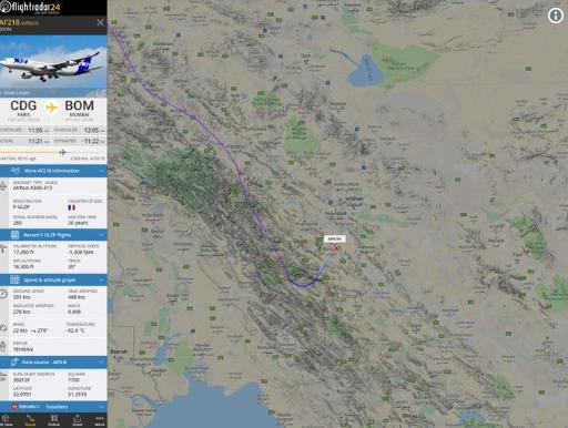 图源:Flightradar24