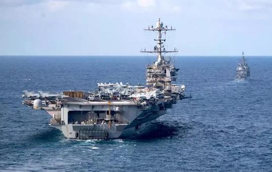 """▲美国海军""""杜鲁门""""号航空母舰(美国海军网站)"""