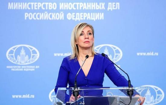 俄罗斯外交部发言人扎哈罗娃(图源:海外网)