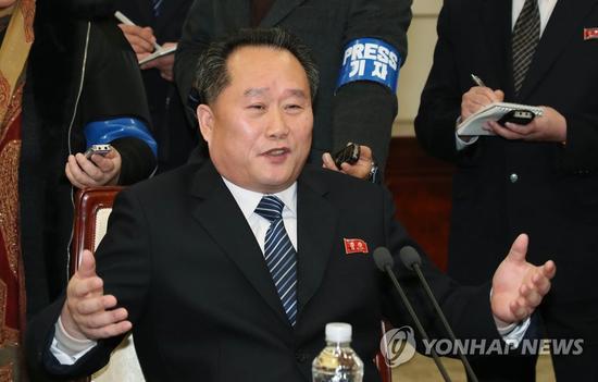 朝方代表团长、朝鲜祖国和平统一委员会委员长李善权