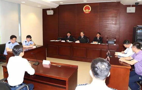上海检察一分院微信公号 图