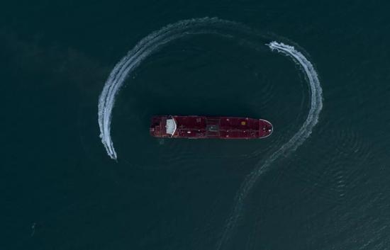 ▲伊朗霍尔木兹海峡