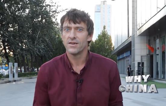 ▲CGTN外籍记者亚当(视频截图)