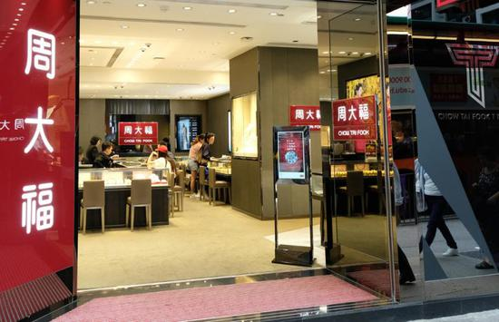 香港零售业遭受大冲击(图源:大公报)