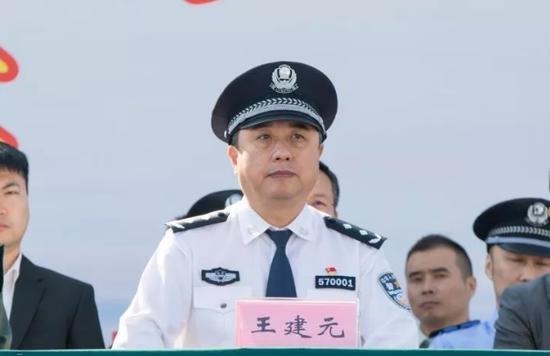 拱北海关党委委员、缉私局局长王建元