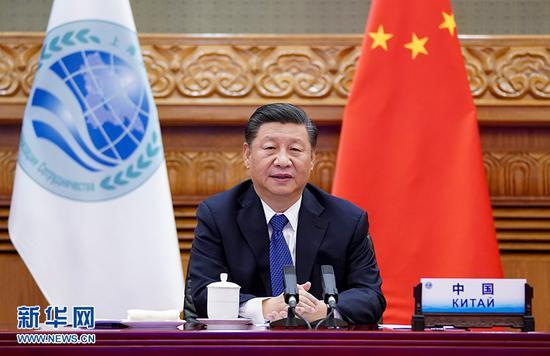 习近平出席上海合作组织成员国元首理事会第二十次会议并发表重要讲话