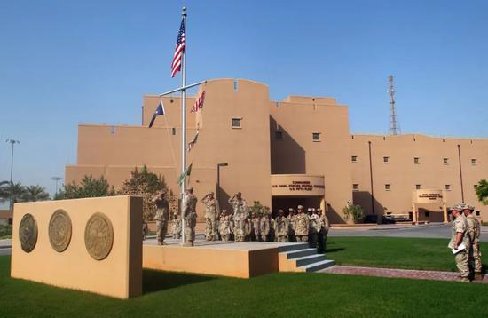 ▲位于巴林麦纳麦的美海军第五舰队司令部大楼