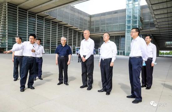 了解天津文化中心规划建设情况