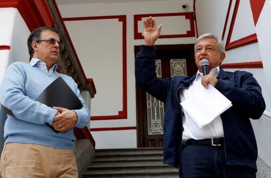 美媒:墨西哥当选总统致信特朗普寻求合作